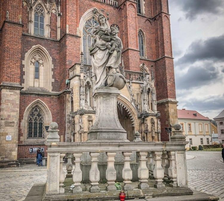Najstarszy zachowany pomnik we Wrocławiu.