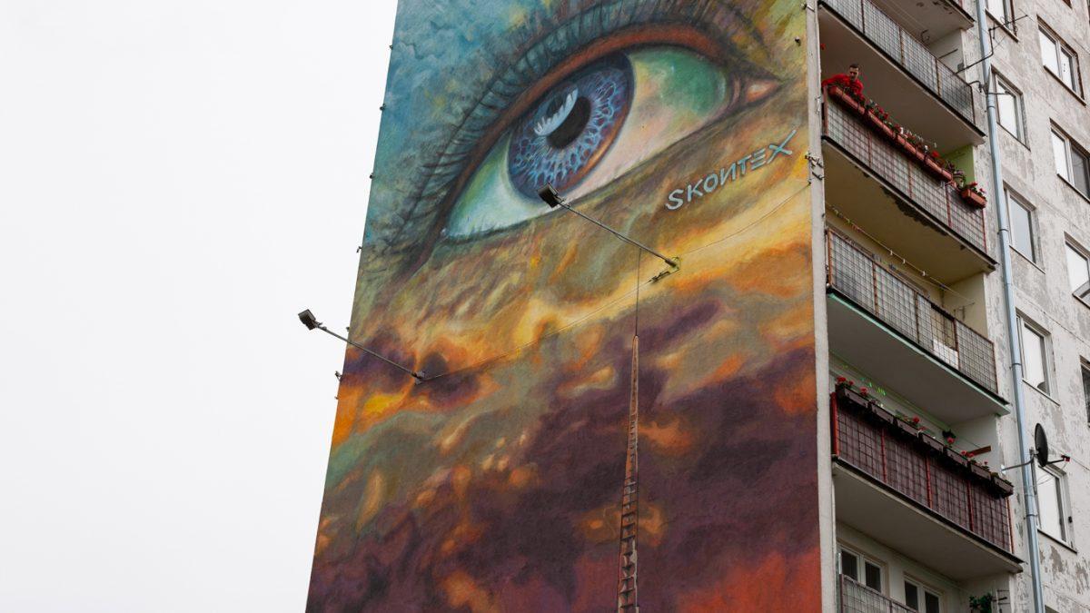 Nowy mural na Psim Polu robi ogromne wrażenie!