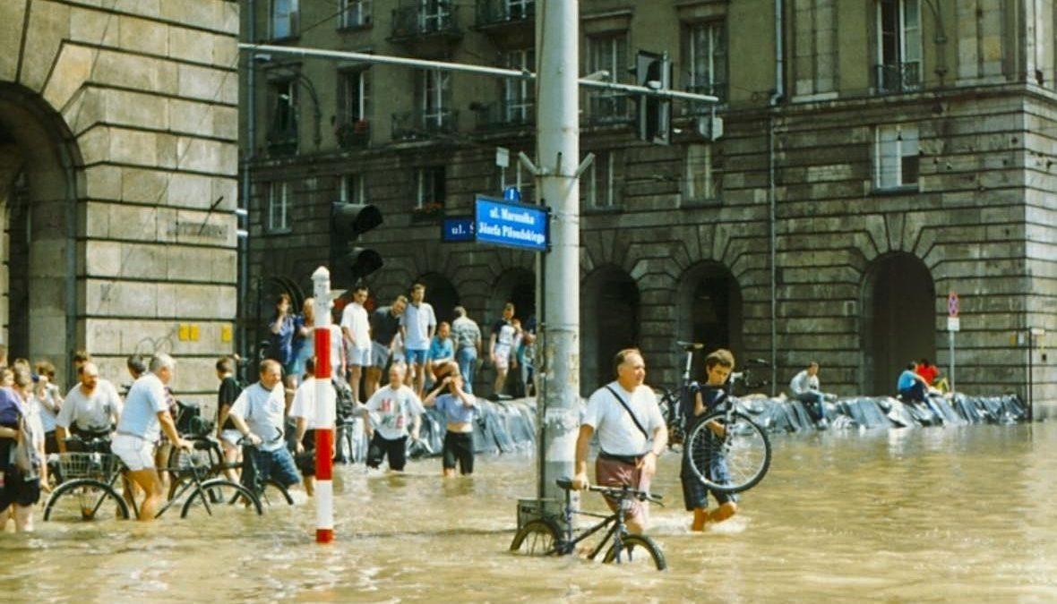Dziś misja 22 rocznica powodzi tysiąclecia [ZDJĘCIA, WIDEO].