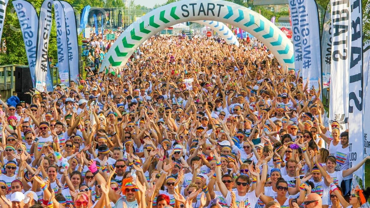 Eksplozja radości i kolorów, czyli The Color Run po raz pierwszy na Dolnym Śląsku!