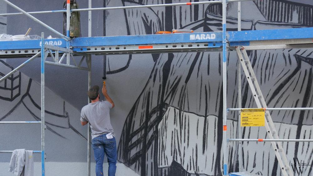 Nowy mural na Nadodrzu. Odsłonięcie już w październiku!