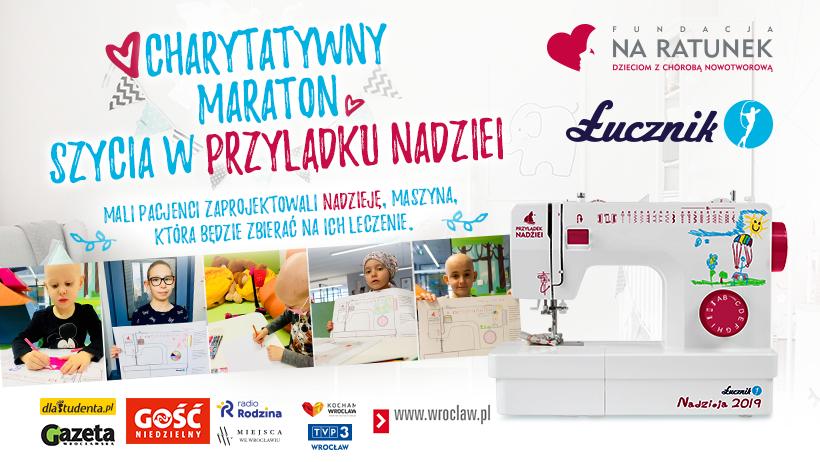 Charytatywny Maraton Szycia w Przylądku Nadziei.