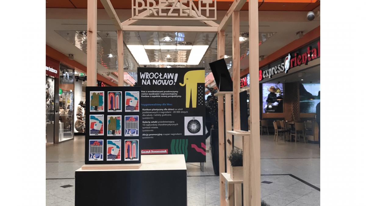 Magnetyczny Wrocław Na Nowo – zrób zakupy w Galerii Dominikańskiej, a otrzymasz magnes.
