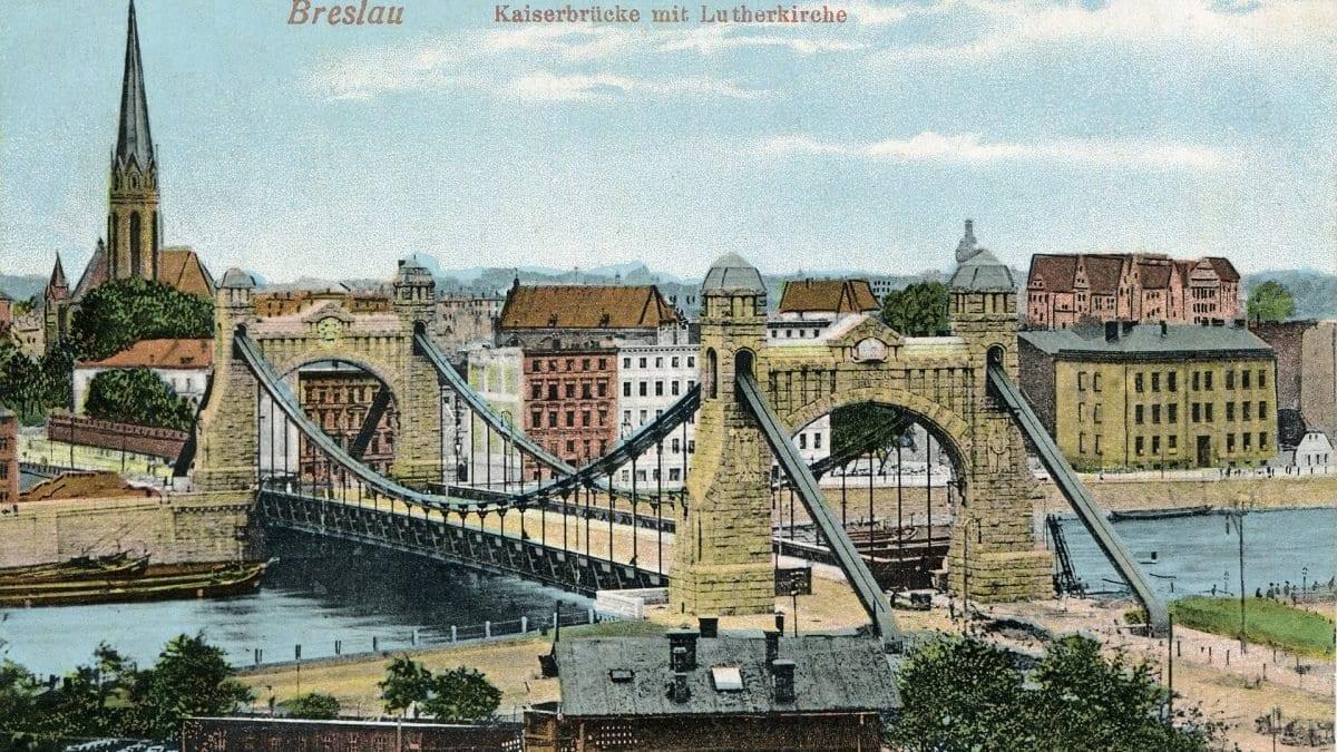 10 października 1910 roku otwarto Most Grunwaldzki [ZDJĘCIA].