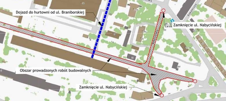 Ruszyła budowa linii tramwajowej na Nowy Dwór.