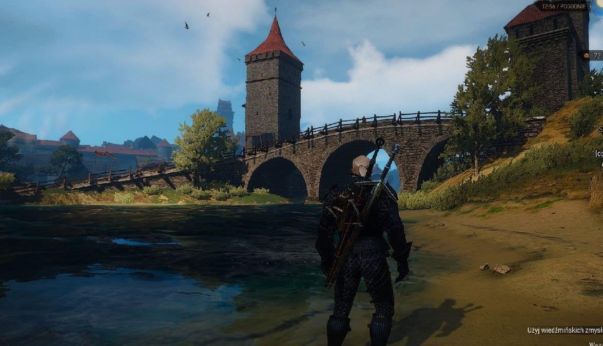Most Tumski – wrocławski akcent w grze Wiedźmin 3: Dziki Gon.