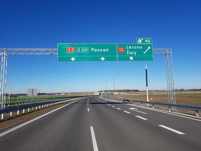 Trasa S5 prawie gotowa. Od 14 grudnia szybciej dojedziemy z Wrocławia do Poznania.