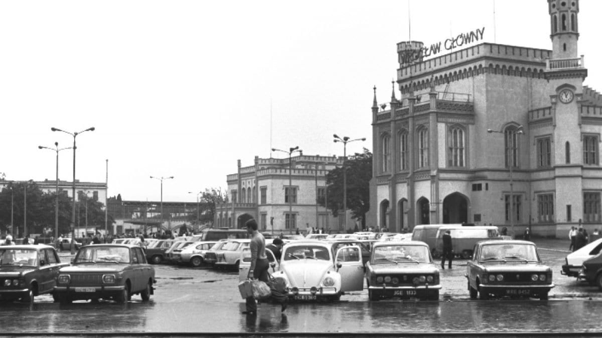 Tak w latach 1970-1980 wyglądał Dworzec Główny.