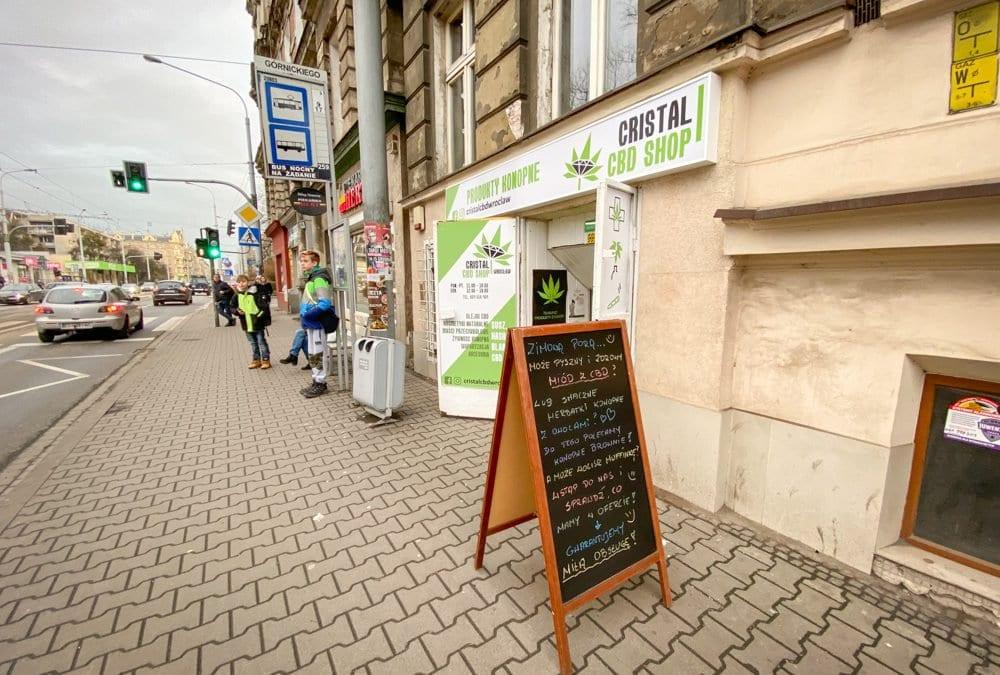 Cristal CBD Shop – sklep z bardzo dużym wyborem produktów z konopi.
