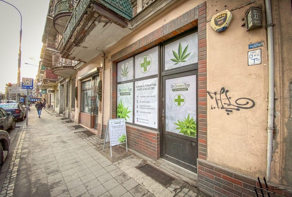 Dr Green Top – nowy sklep z artykułami konopnymi we Wrocławiu.