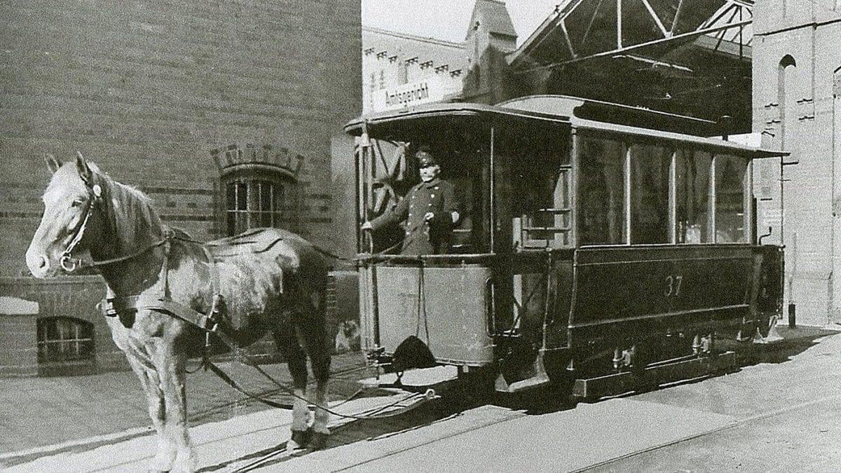 Historia rewolucyjnego środka transportu – tramwaju konnego. (Cz.1)