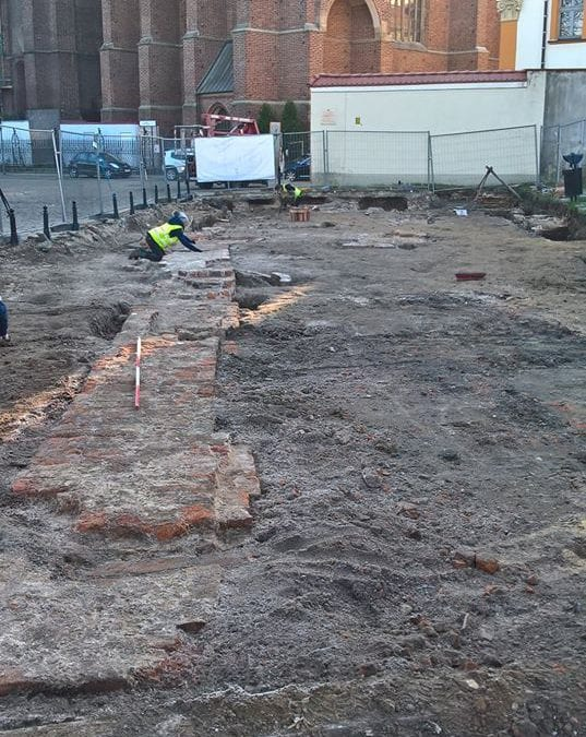 Niezwykłe odkrycie archeologiczne na Ostrowie Tumskim.