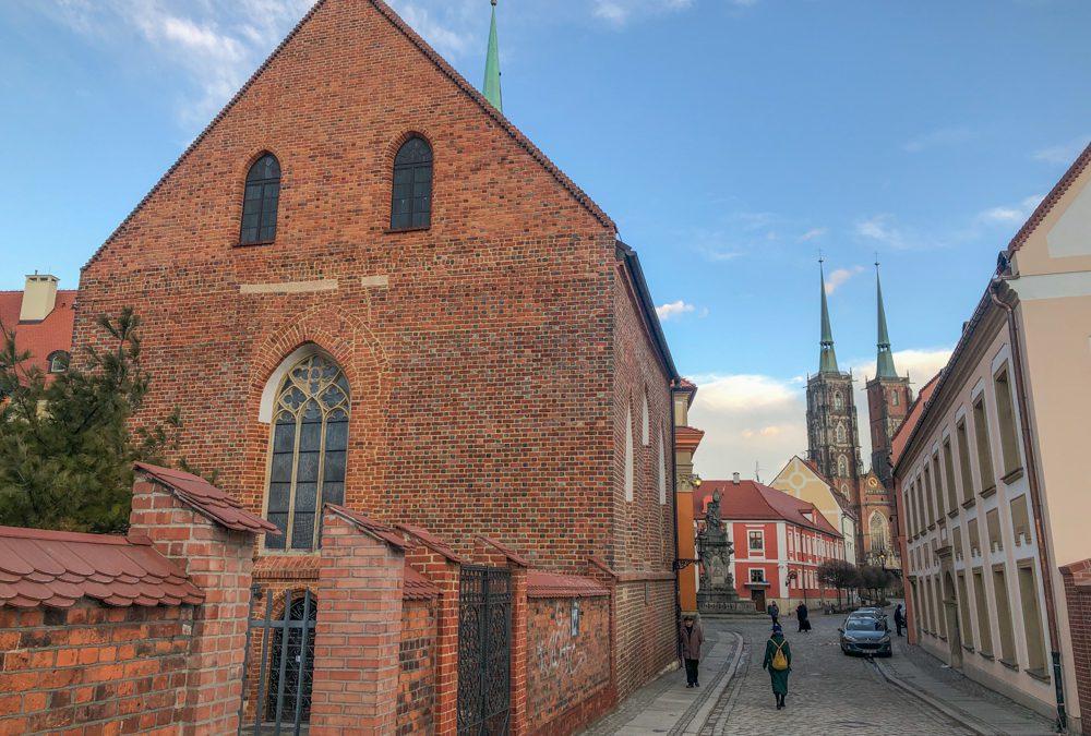 Najmniej rozpoznawalna świątynia katolicka we Wrocławiu – kościół św. Piotra i Pawła.