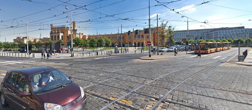 Wrocław przebuduje węzeł tramwajowy przy Dworcu Głównym.