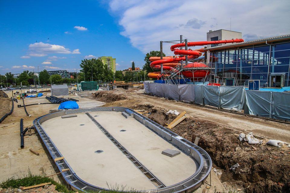 W wakacje zostaną otwarte dwa nowe baseny w Aquapark Wrocław.