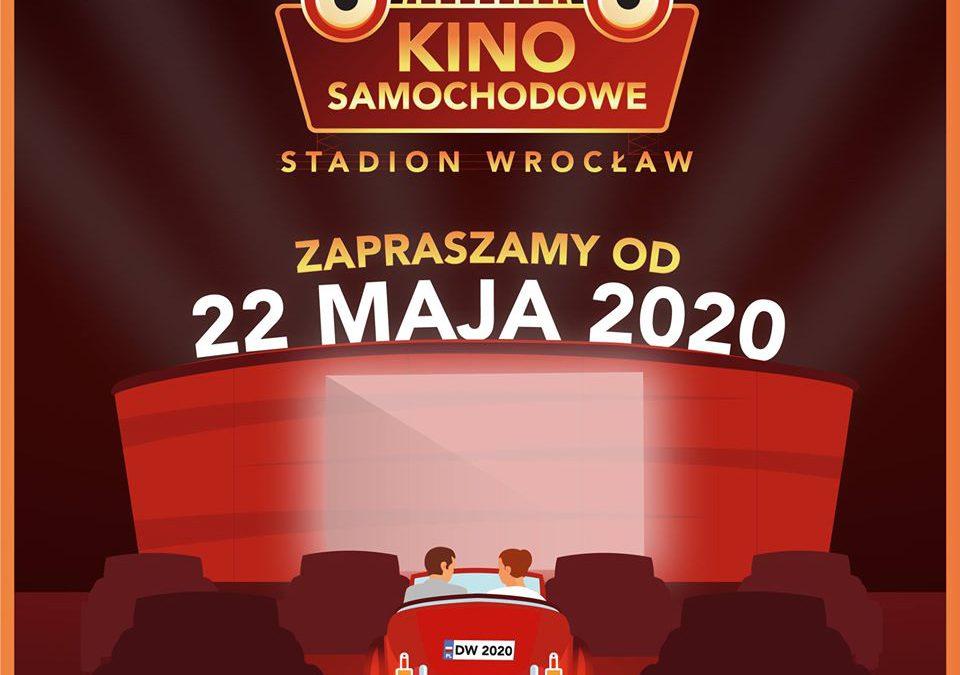 Na Stadionie Wrocław startuje kino samochodowe.