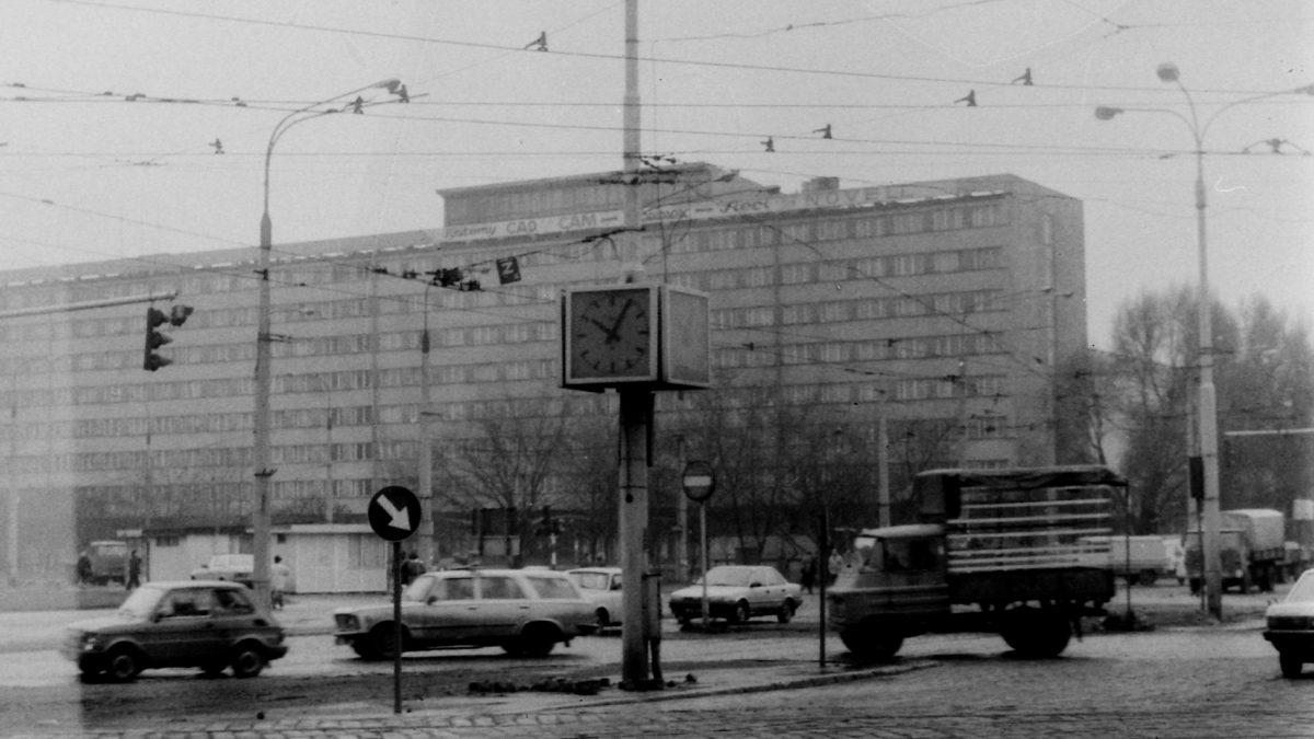 Plac Grunwaldzki w latach 1970-1980 [ZDJĘCIA].