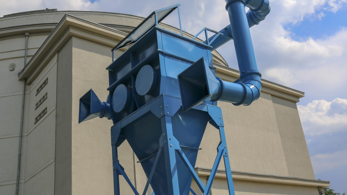 """""""Zjadacz kurzu"""" – rzeźba, która oczyści powietrze we Wrocławiu."""
