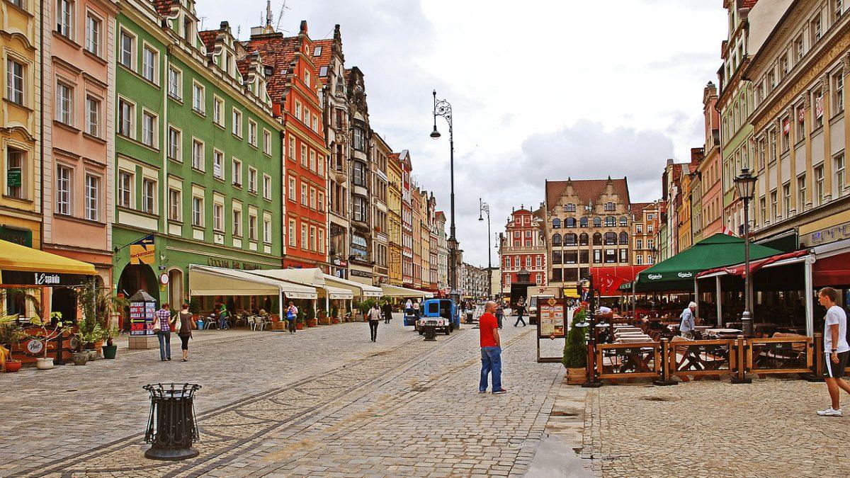 Wrocław – turystyczne centrum Polski.