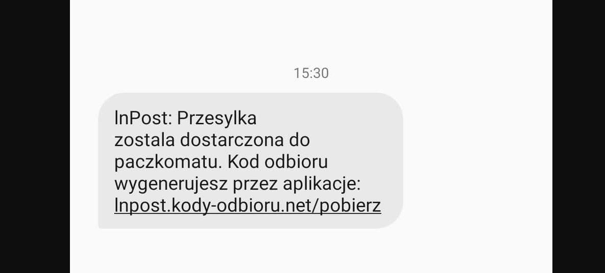 Uwaga na fałszywe SMS-y od firmy InPost!