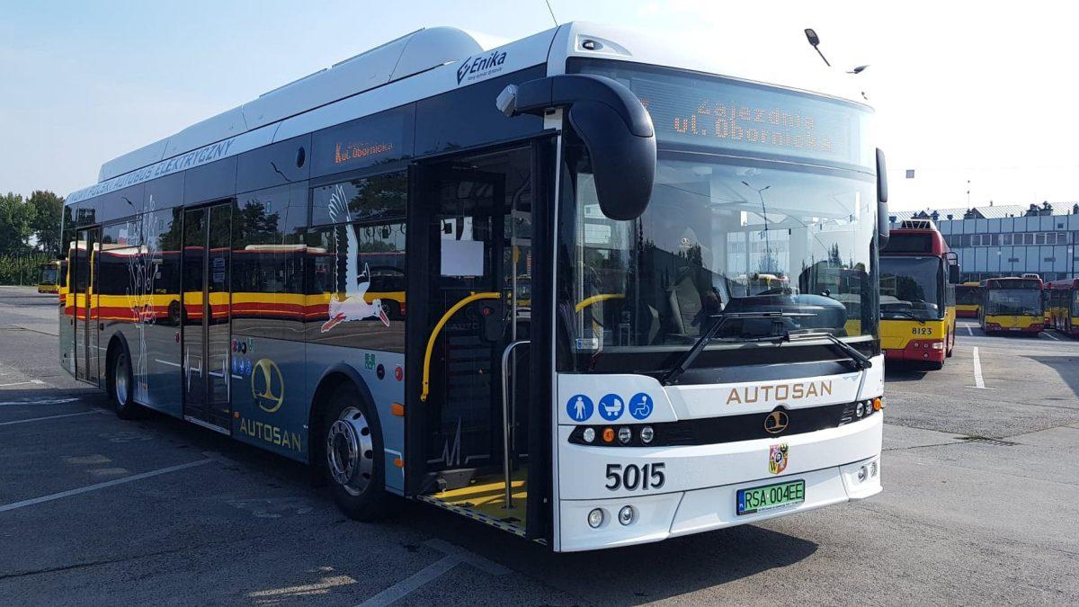 MPK testuje elektryczny autobus – można jeździć nim bez biletu.