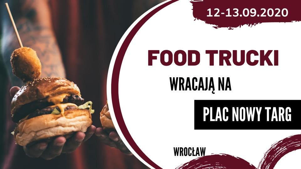 Food Trucki wracają na Plac Nowy Targ.