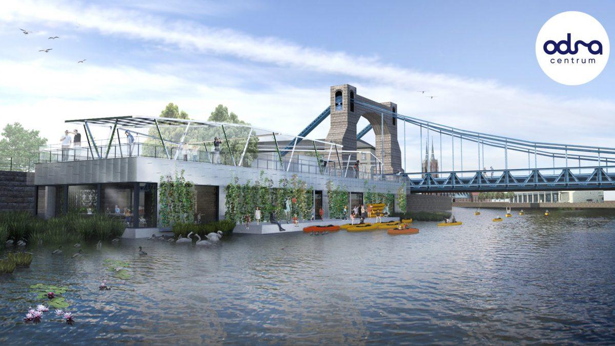 Powstaje ośrodek edukacyjno-kulturalny, który będzie znajdować się na wodzie.