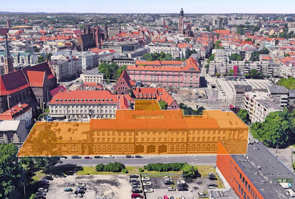 Budynki Orange wystawione na sprzedaż. Wartość każdej kamienicy to 40 mln złotych.