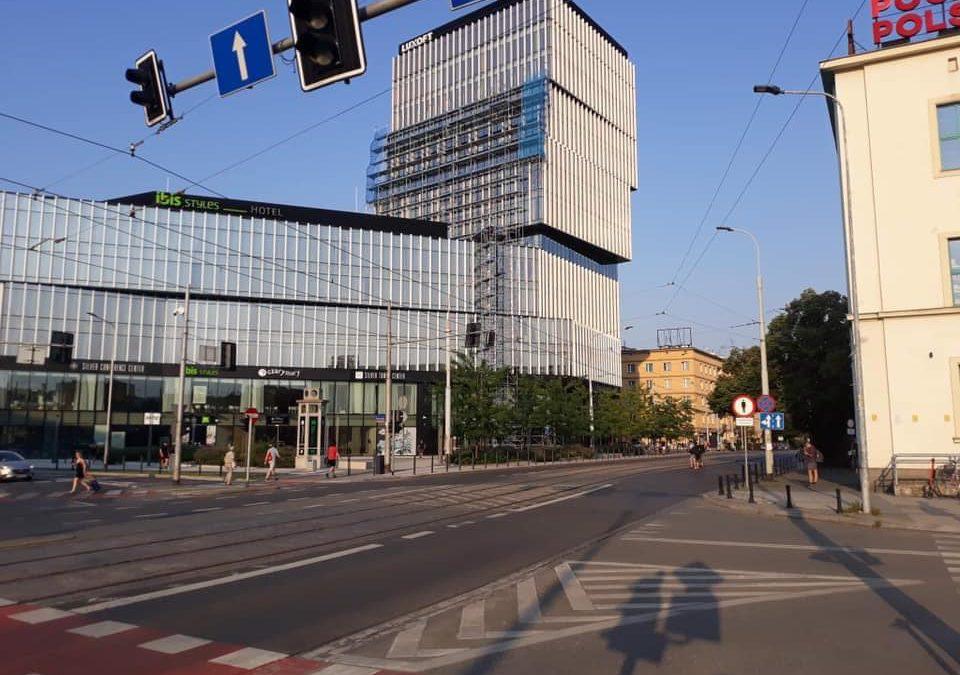 Powstanie nowy fragment ścieżki rowerowej w centrum miasta.