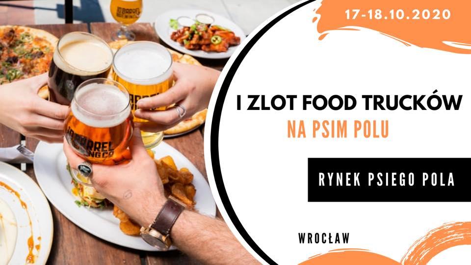 I Zlot Food Trucków na Psim Polu.