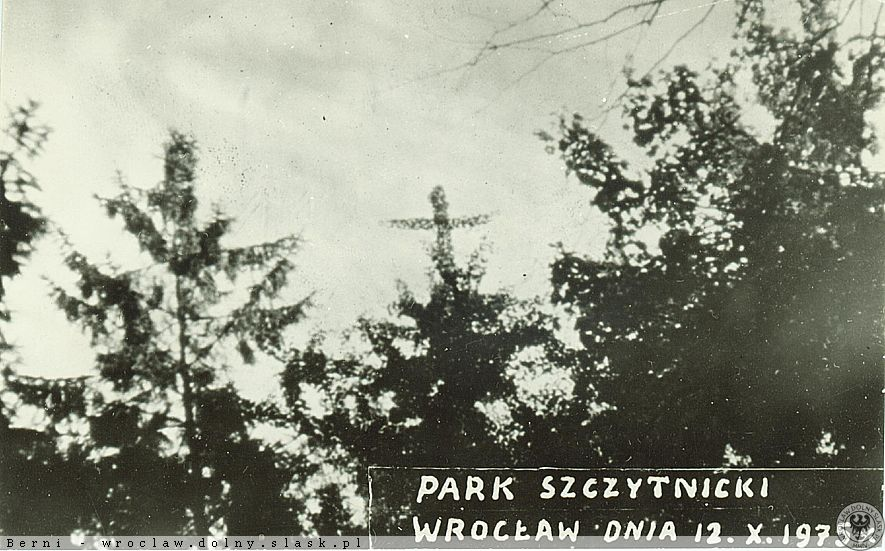 """""""Cud"""" w Parku Szczytnickim."""