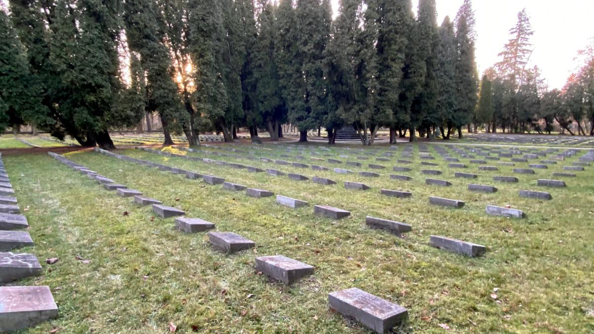 Jedyny zachowany w Polsce cmentarz włoski z okresu I wojny światowej.