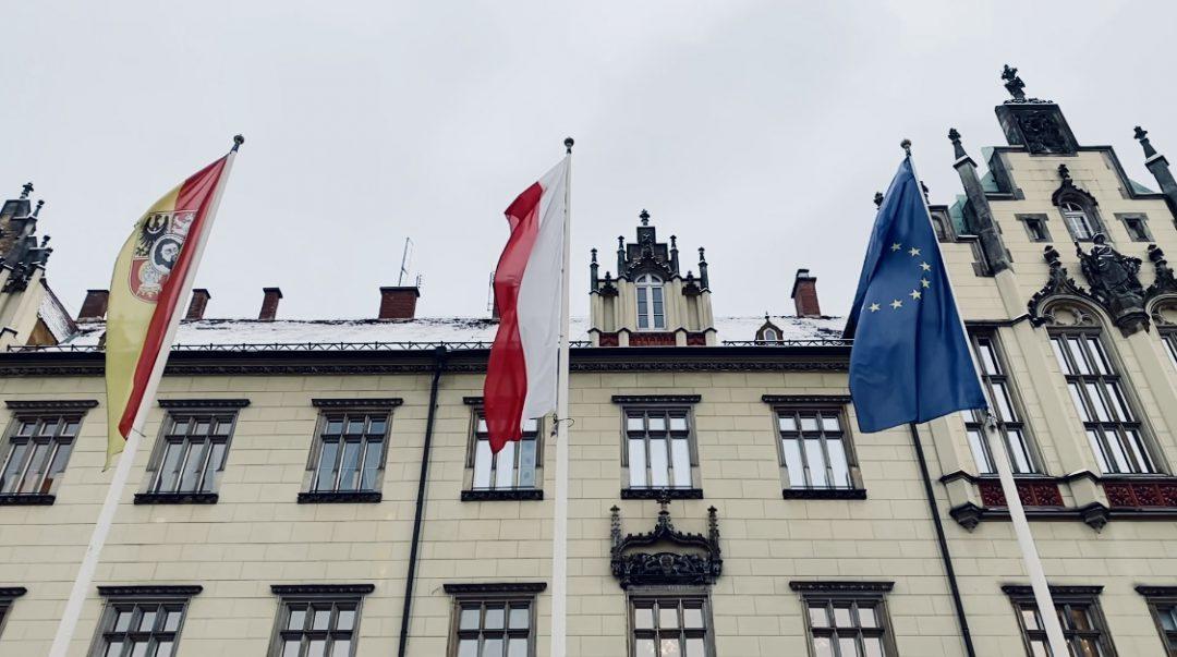 We Wrocławiu pojawią się flagi Unii Europejskiej.