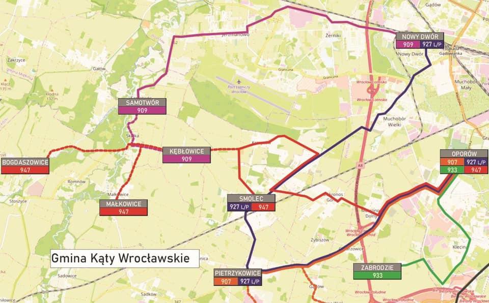 Nowe linie aglomeracyjne dla 5 gmin – miasto ogłosiło przetarg.