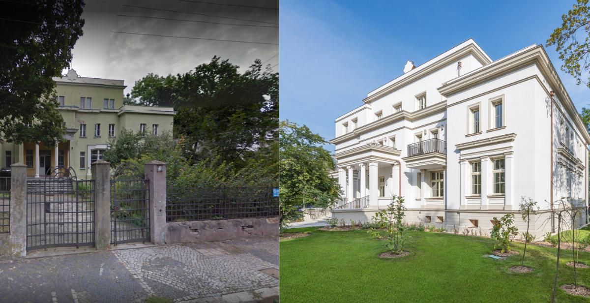 XIX-wieczna Rezydencja Szczytnicka przeszła renowację.