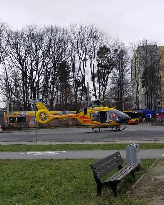 Na Sępolnie wylądował helikopter LPR.