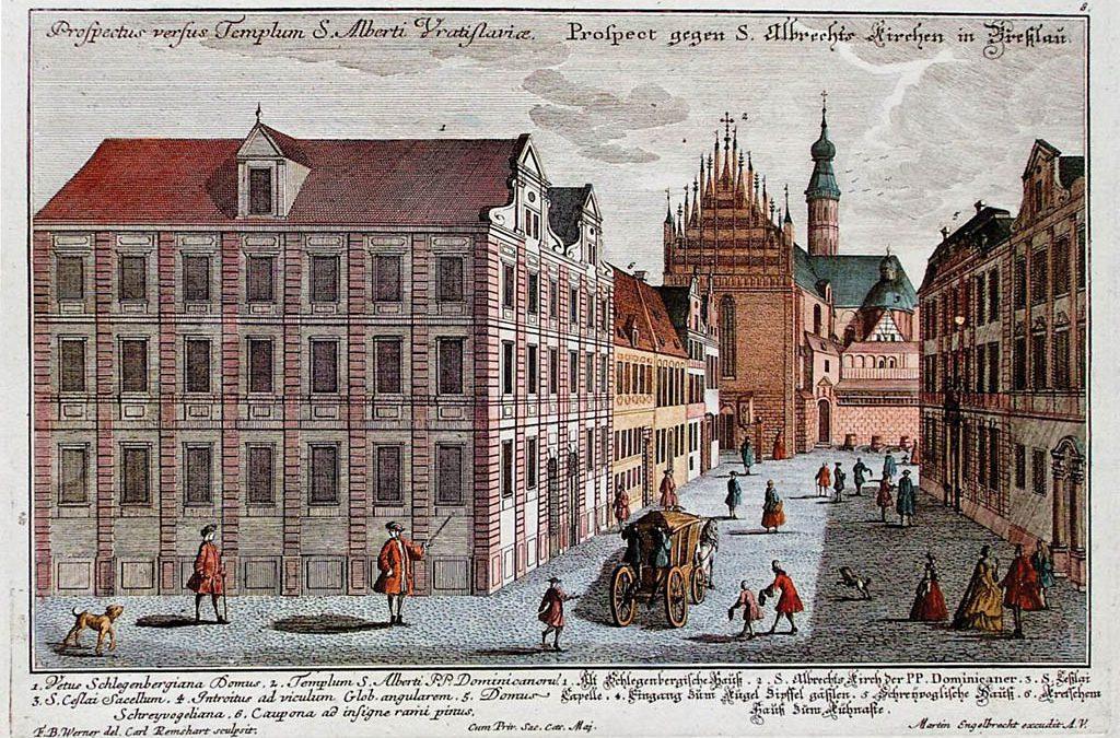 Barokowy Pałac Schreyvoglów. [NIEISTNIEJĄCY]