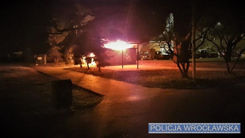 Podpalaczka z Biskupina zatrzymana przez policję.