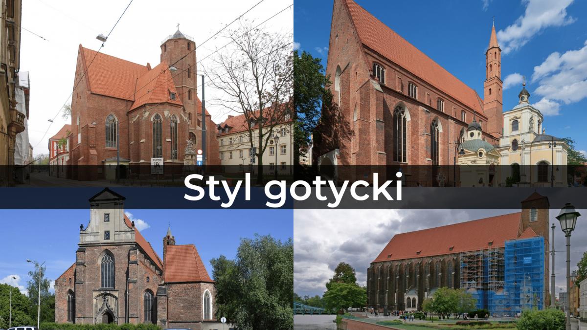Wrocławska architektura część I – styl gotycki.