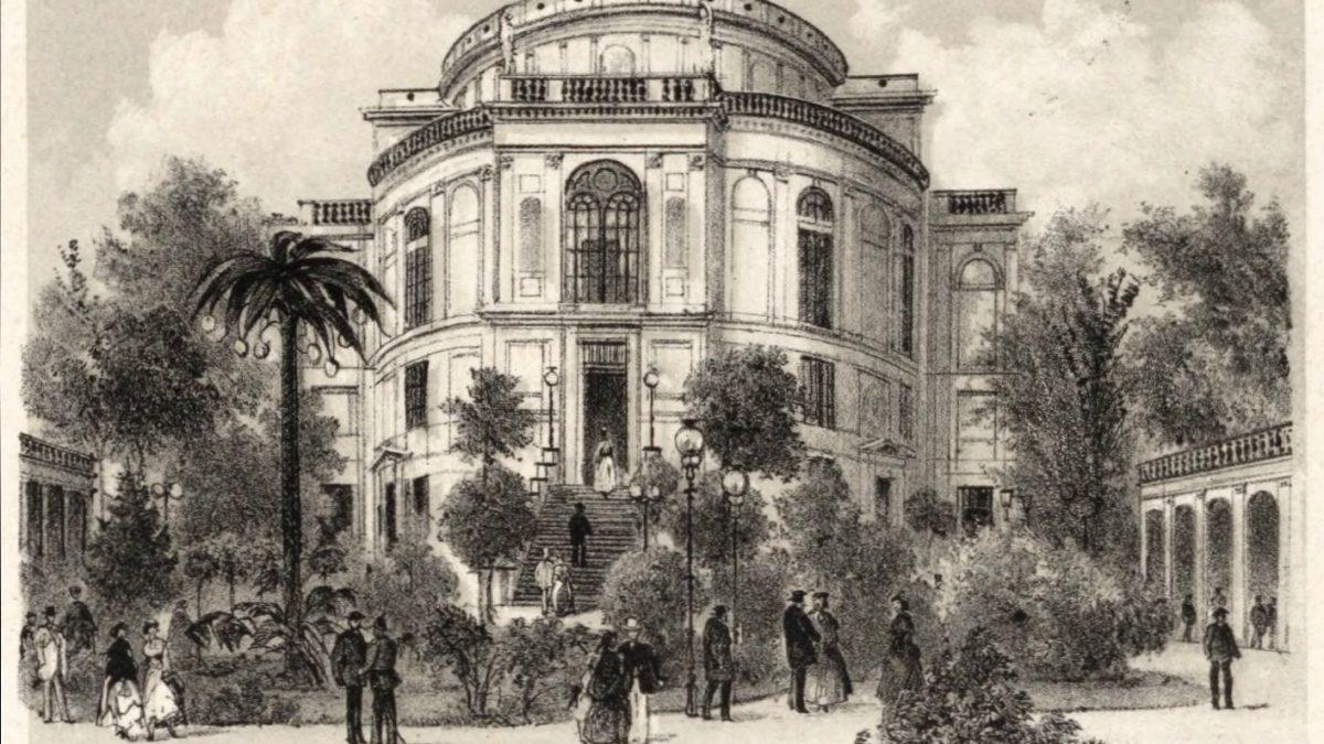 Historia nieistniejącego już Teatru Lobego.