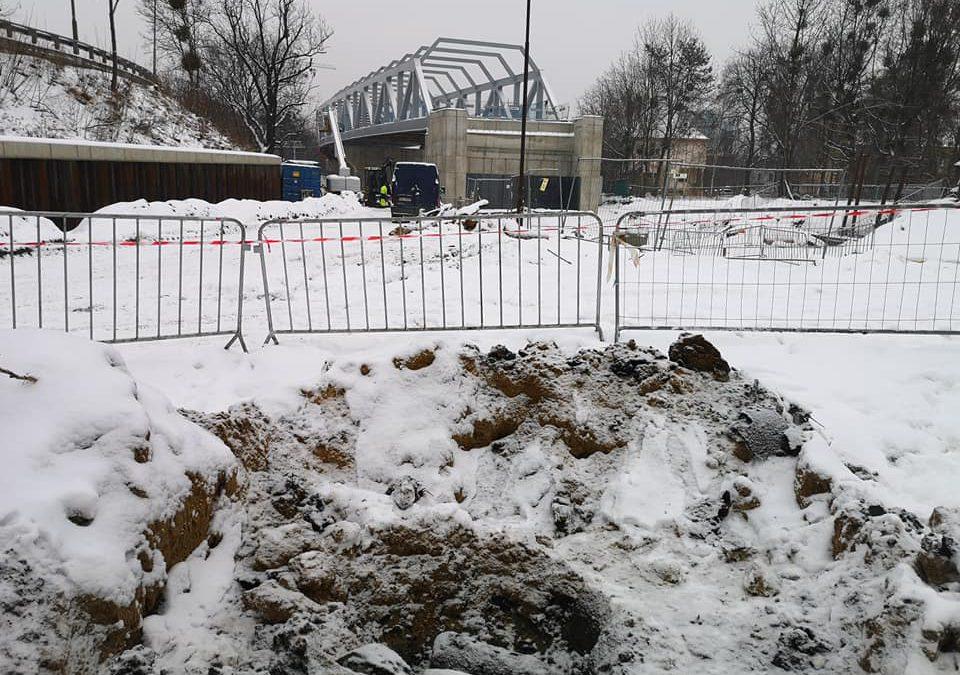 Radzieckie pociski znalezione na budowie TAT.