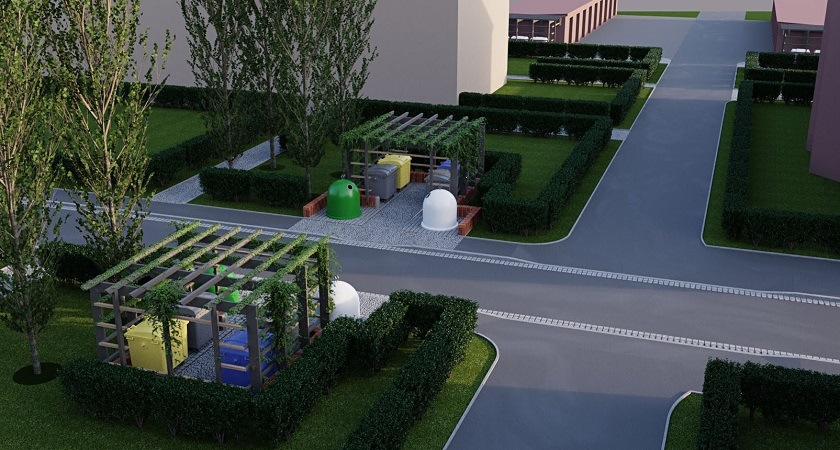 Na Sępolnie pojawią się ekologiczne pojemniki na odpady.
