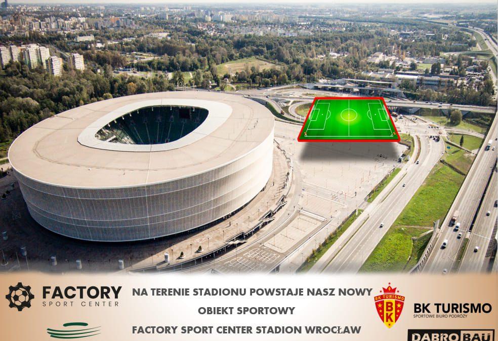Na terenie Stadionu Wrocław powstanie boisko.
