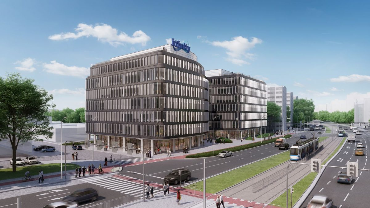 Przy placu Jana Pawła II powstanie nowoczesny biurowiec.