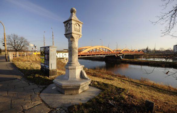 Kamień Stulecia - Mosty Trzebnickie