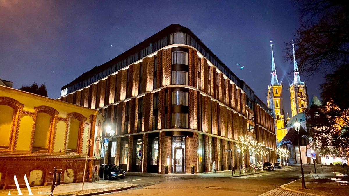 Hotel The Bridge najlepszy w Europie pod względem architektury i wnętrza.