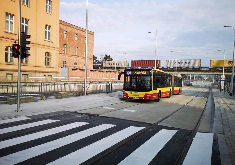 Pierwszy etap budowy tramwaju na Popowice dobiega końca.