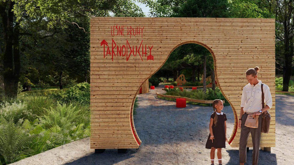 Leśne Druhy – TarnoDuchy, czyli nowy plac zabaw w Parku Tarnogajskim.