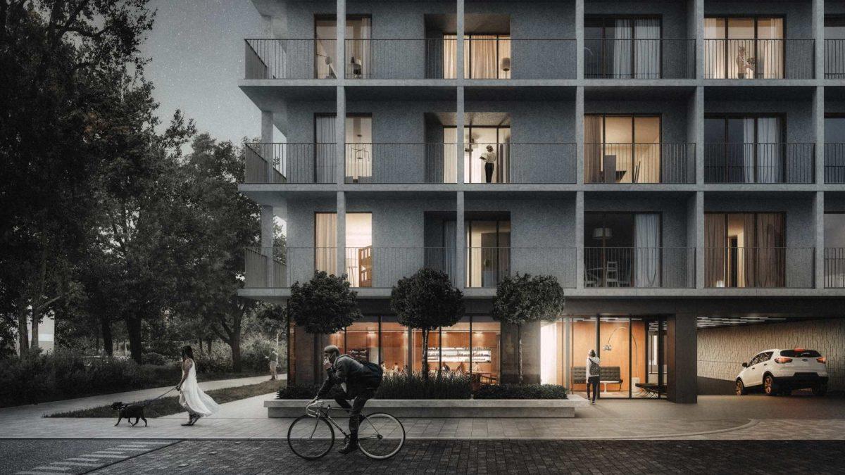 DRUKARSKA 56 – nowy projekt apartamentowy na Krzykach.