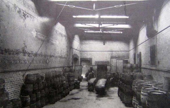 Skład piwa przy ul. Tęczowej